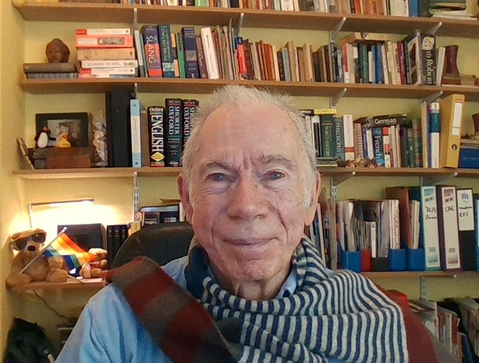 Maurice Greenham long-term HIV survivor, diagnosed in 1980s.