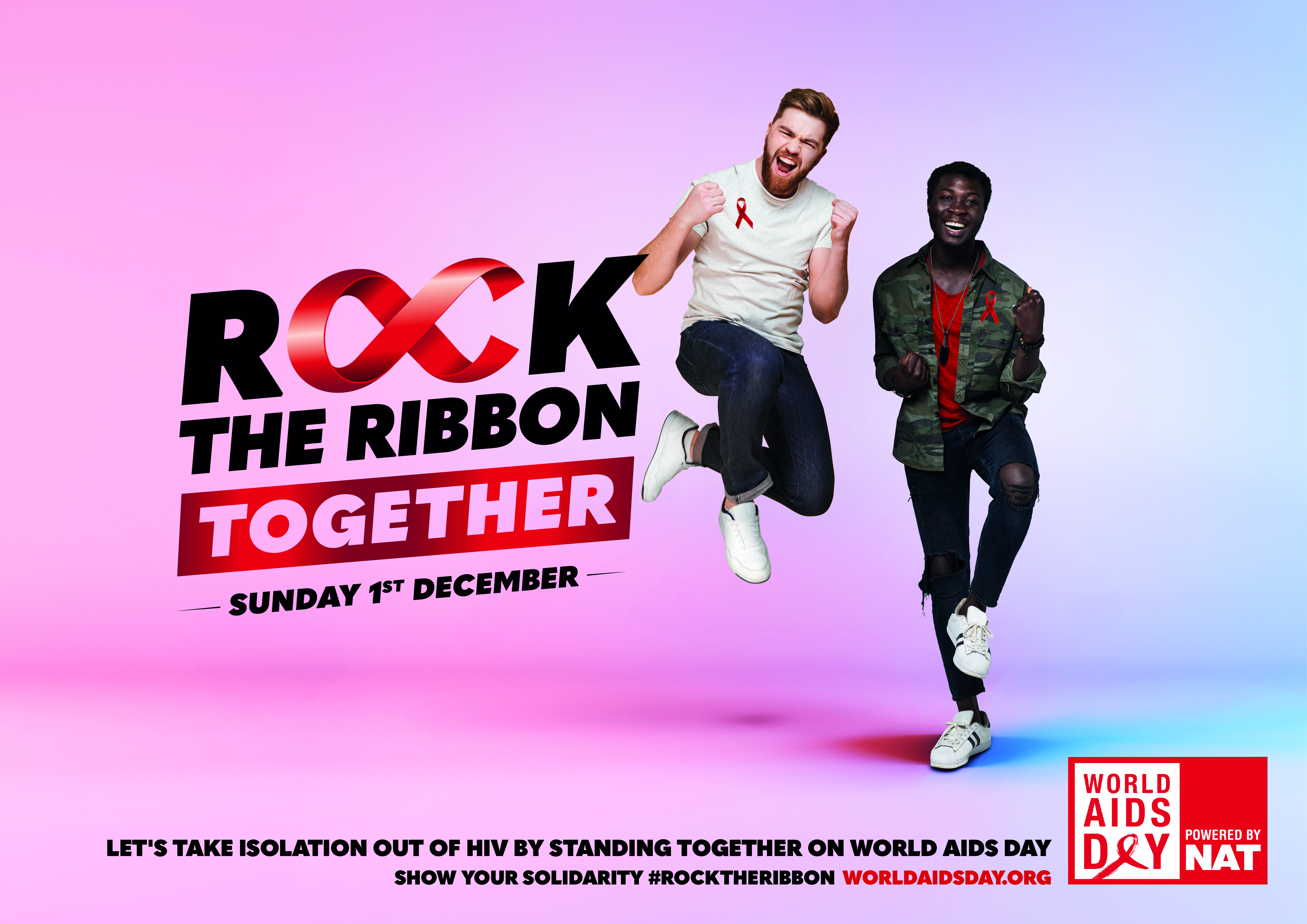 ROCK THE RIBBON TOGETHER POSTER 2 - LANDSCAPE