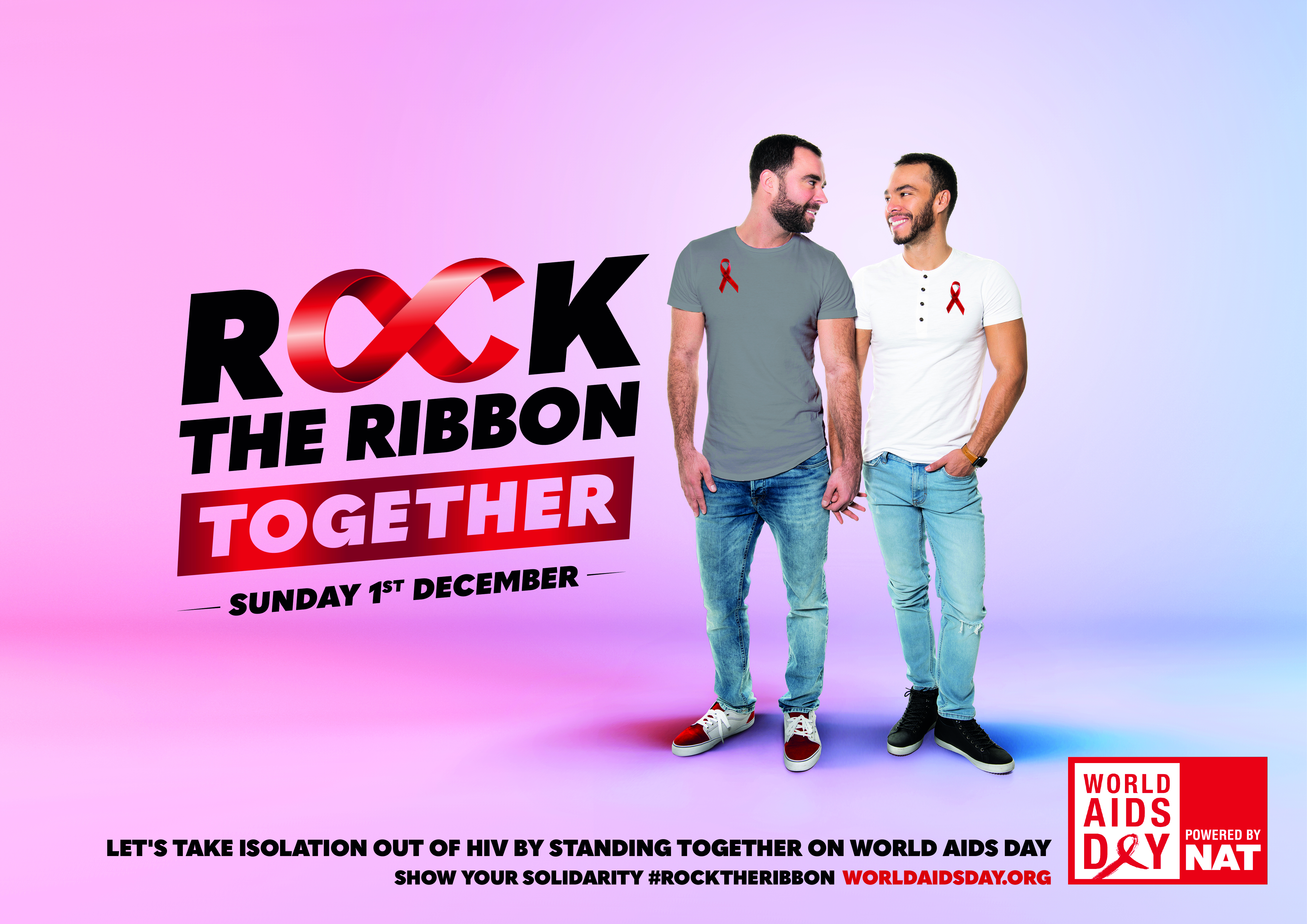 ROCK THE RIBBON TOGETHER POSTER 4 - LANDSCAPE