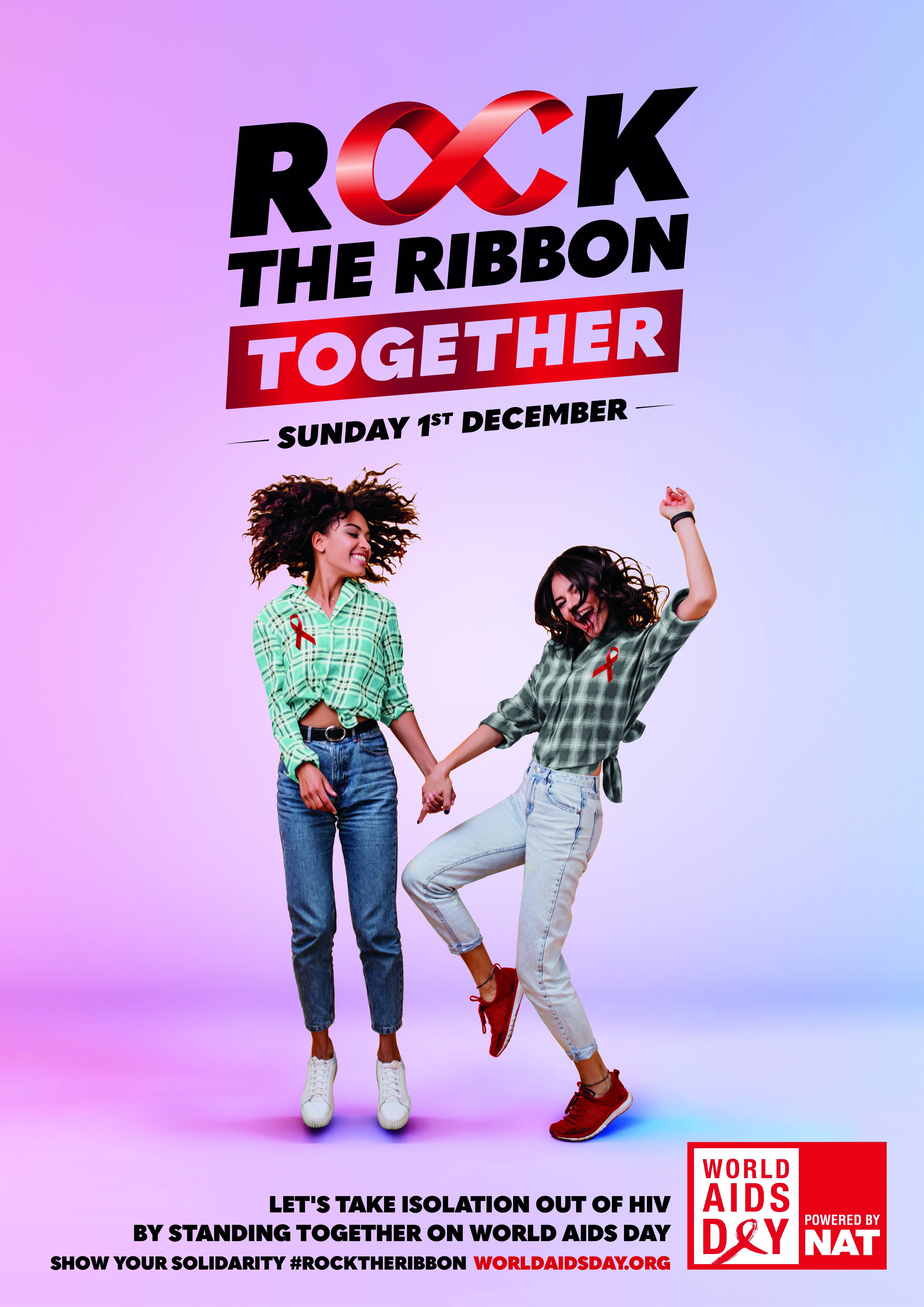 ROCK THE RIBBON TOGETHER POSTER 1 - PORTRAIT