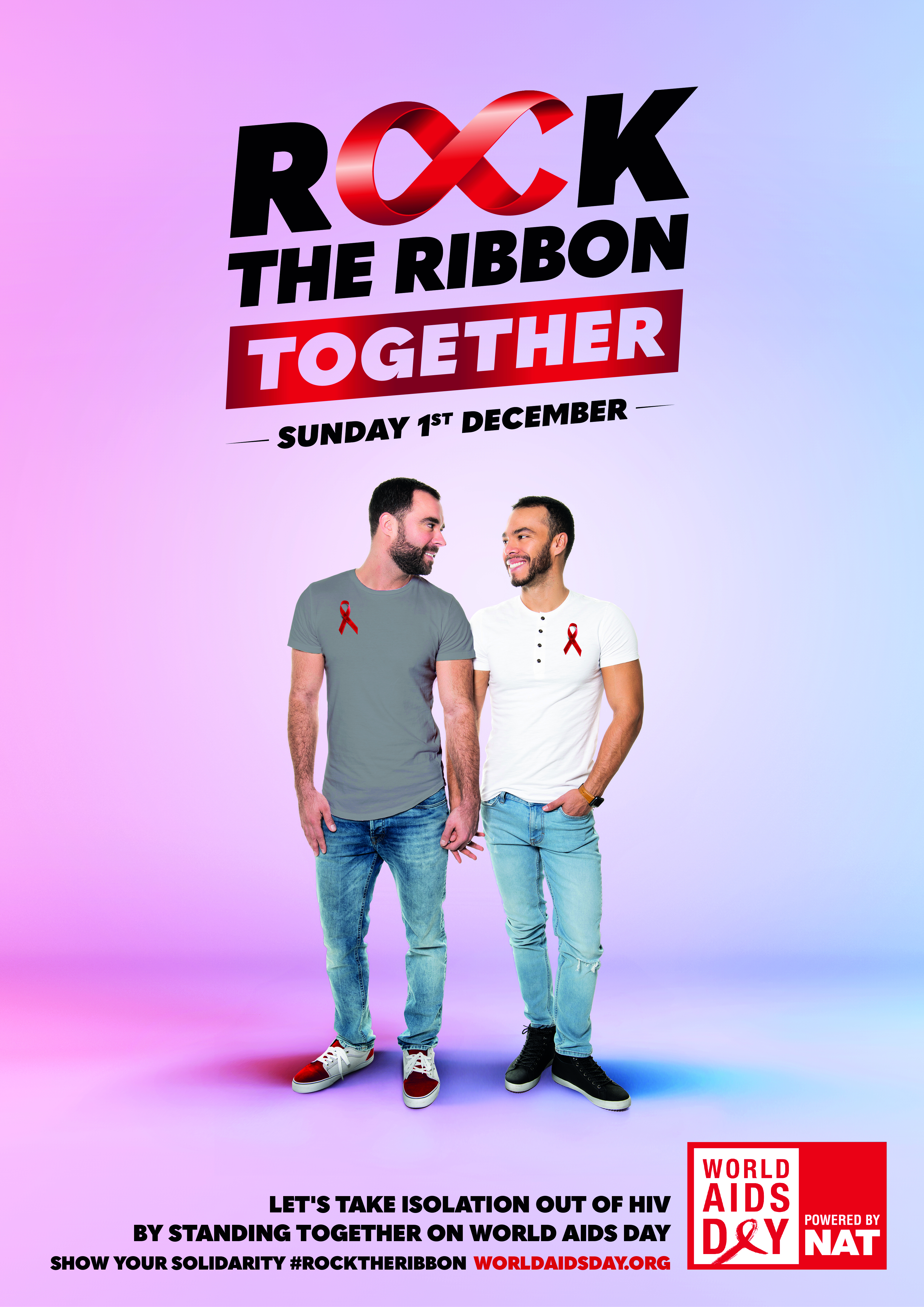 ROCK THE RIBBON TOGETHER POSTER 4 - PORTRAIT