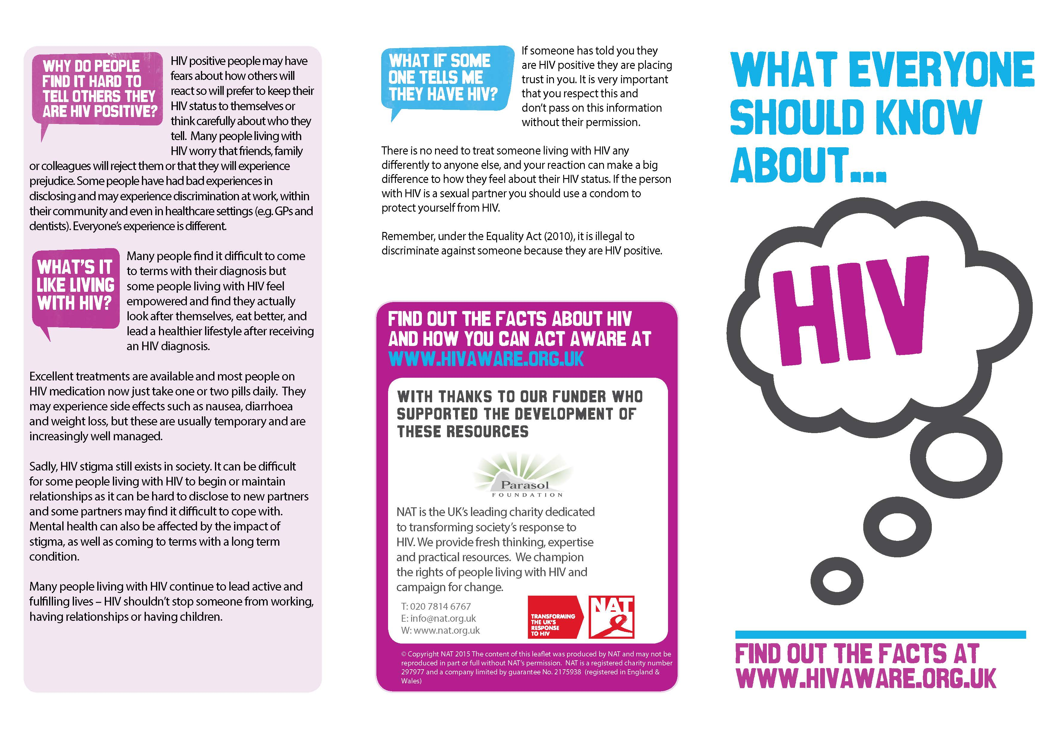 What Everyone Should Know About HIV