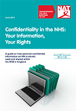 Confidentiality in the NHS: Your Information, Your Rights