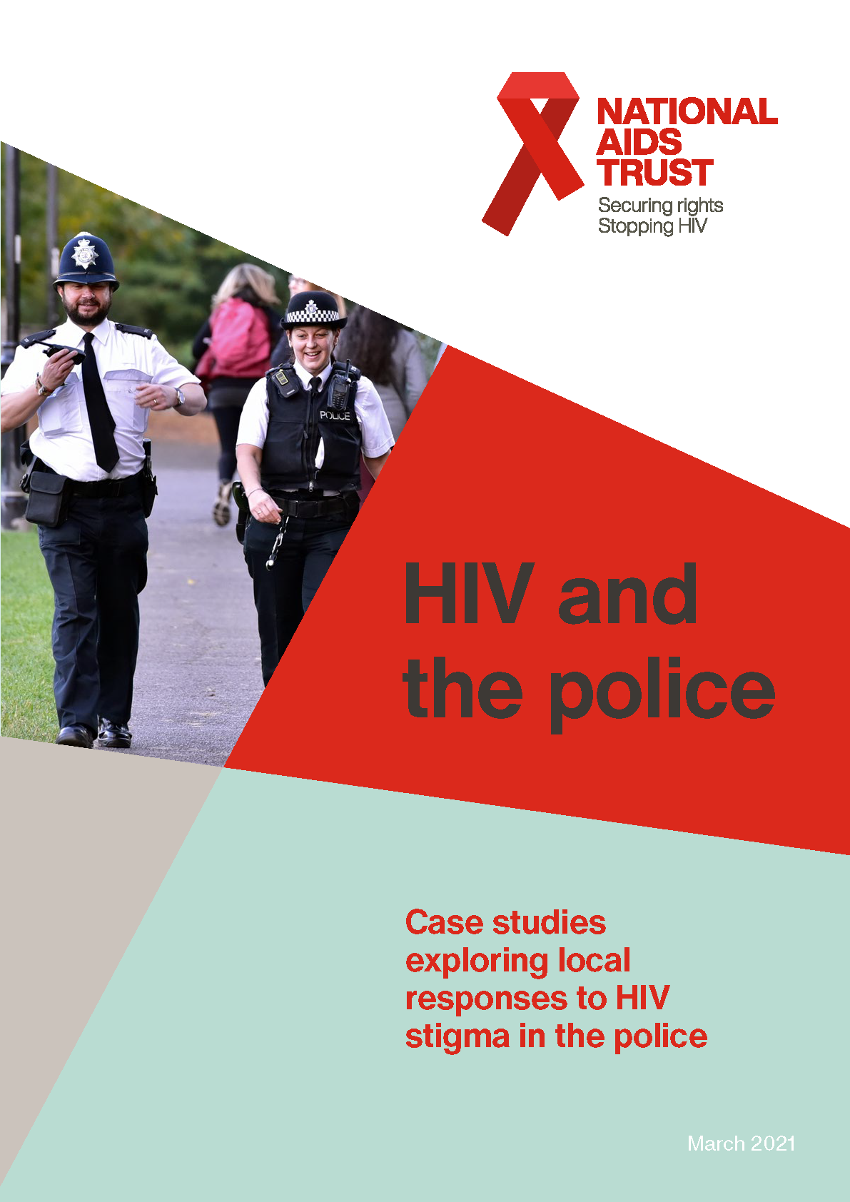 HIV and the police report image