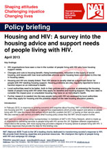 Policy Briefing: Housing and HIV