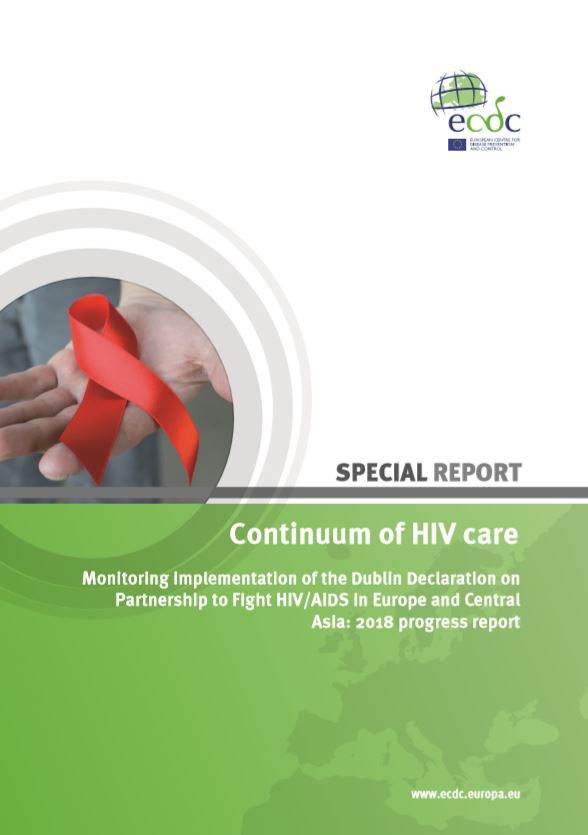 ECDC report - Continuum of HIV care