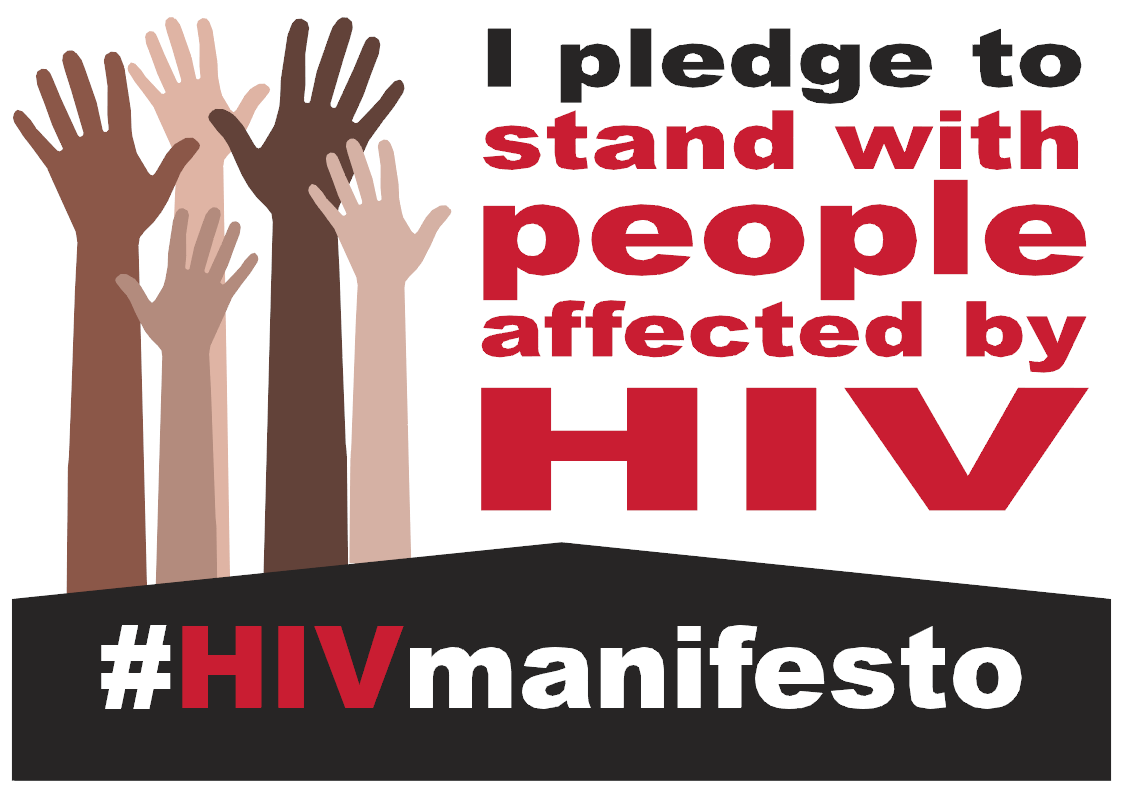 HIV Manifesto - Pledge Board