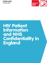 HIV Patient Information and NHS Confidentiality