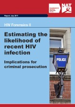 HIV Forensics II: Estimating the likelihood of recent HIV infection: Implications for criminal prosecution