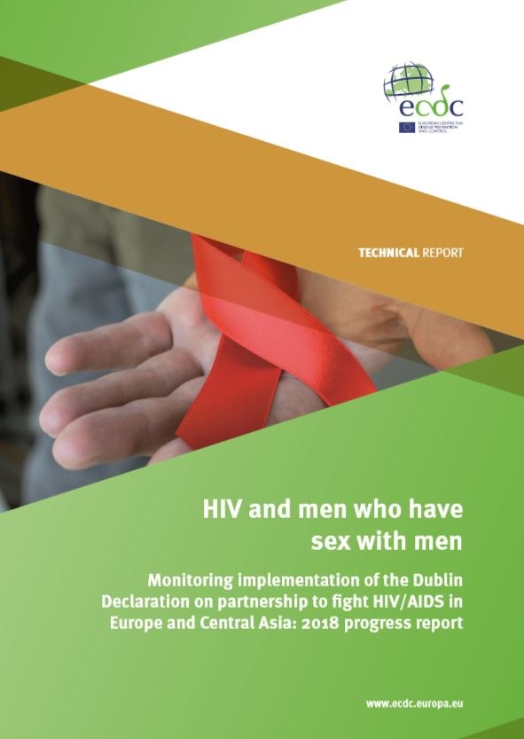 HIV and men who have sex with men ECDE report