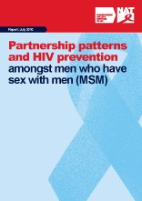 Partnership patterns and HIV prevention amongst men who have sex with men (MSM)