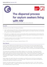 The Dispersal Process for Asylum Seekers Living with HIV