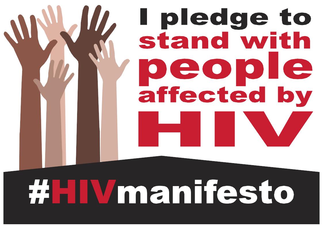 HIV Manifesto - Pledge Board