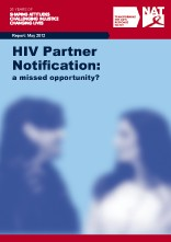 HIV Partner Notification: a missed opportunity?