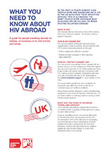 What you need to know about HIV abroad