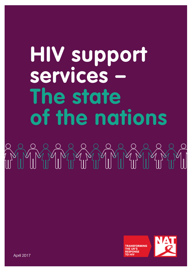 HIV support services - The state of the nations (April 2017)