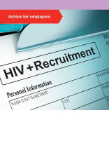 HIV and Recruitment: Advice for employers