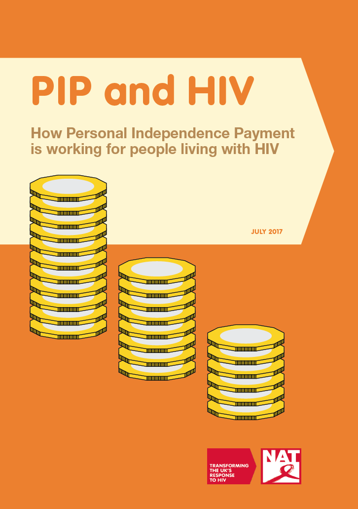 PIP and HIV - How Personal Independence Payment is working for people living with HIV